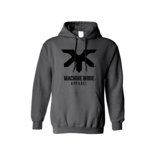MACHINE MODE HOODIE GREY