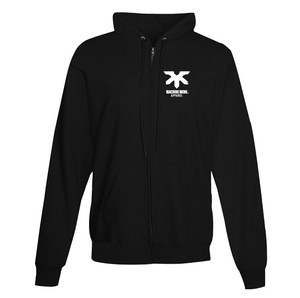MACHINE MODE HOODIE ZIPPERED