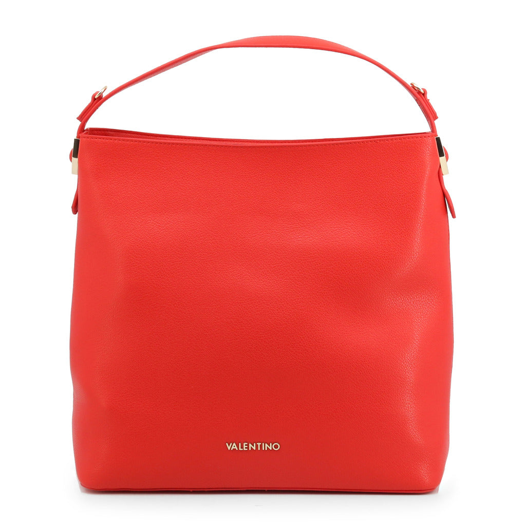Valentino by Mario Valentino Womens Red Shoulder Bag With Zip - ALBUS-VBS3UL02