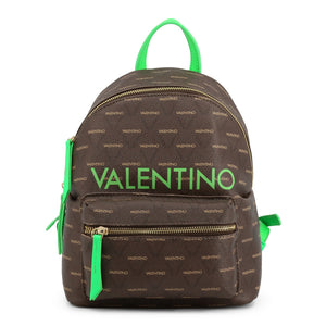 Valentino by Mario Valentino Womens Brown/Green Backpack - LIUTO FLUO-VBS46810
