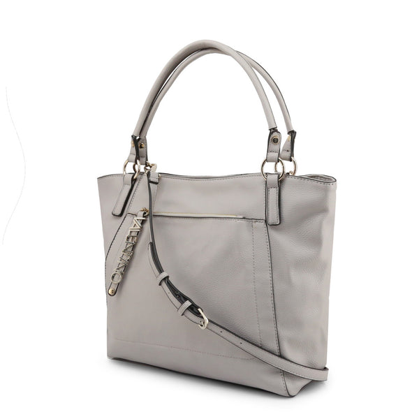 Valentino by Mario Valentino Womens Grey Shoulder Bag - NOTE_VBS3M701