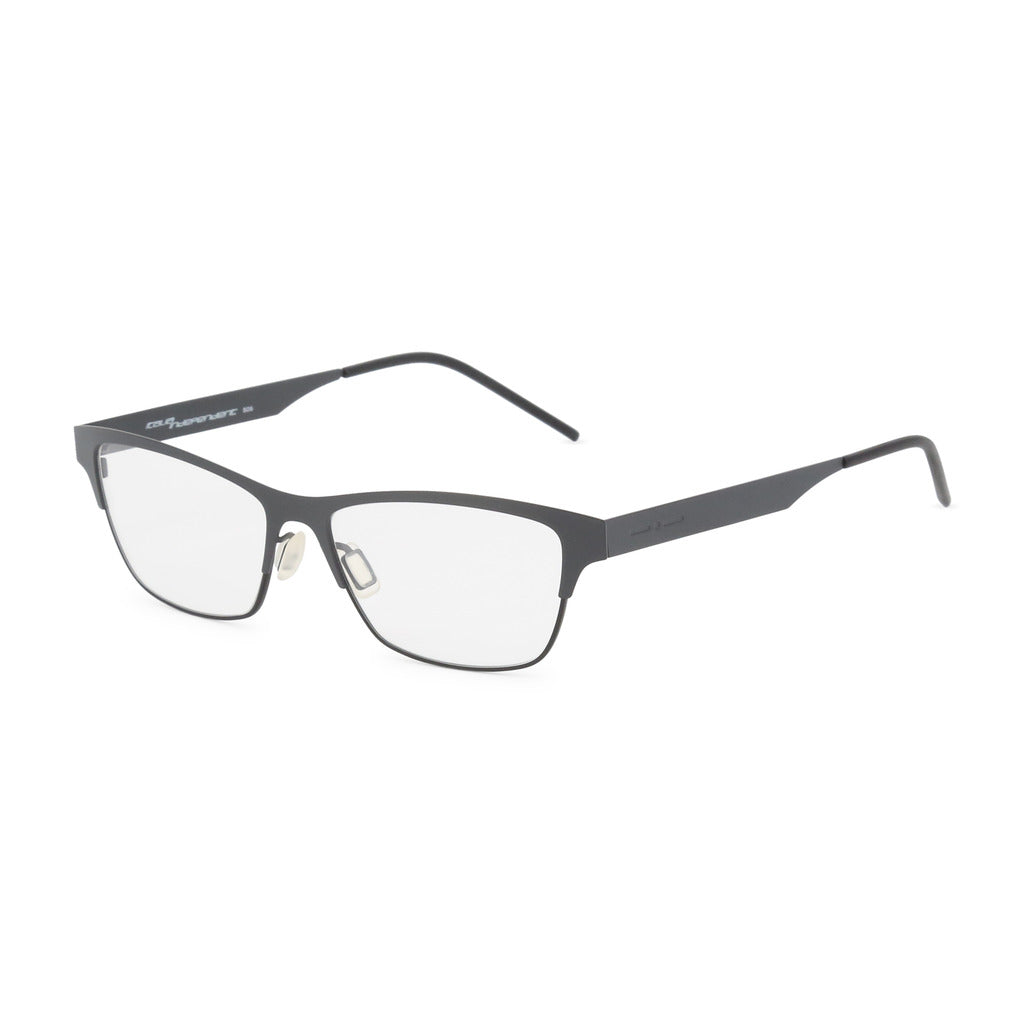 Italia Independent Womens Black Metal Frame Eyeglasses - 5300A