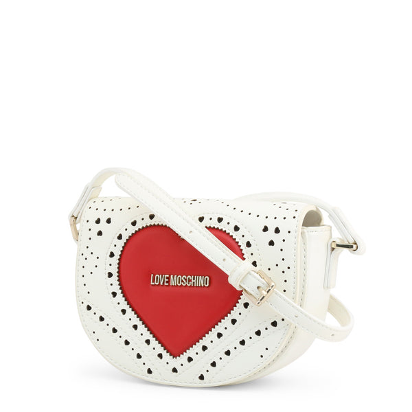 Love Moschino Womens White Crossbody Bag - JC4217PP0AKC