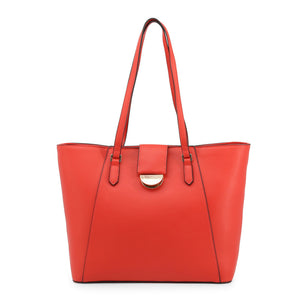 Valentino by Mario Valentino Womens Red Shopper Bag - FALCOR-VBS3TP01