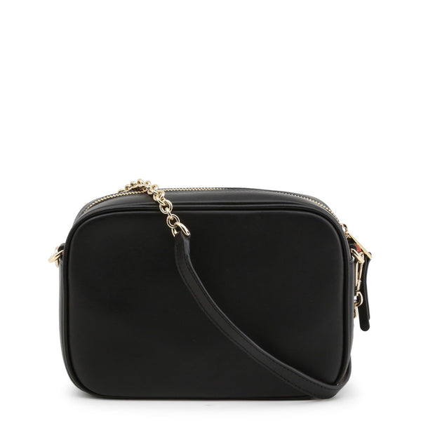 Furla Womens Black Leather Crossbody Bag with Removable Strap - BZM1_FURLA-SWING