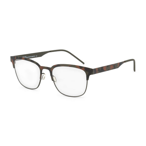 Italia Independent Mens Black Camouflage Eyeglasses - 5304A