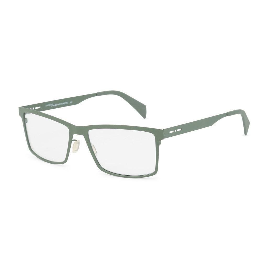 Italia Independent Mens Green Metal Frame Eyeglasses - 5025A