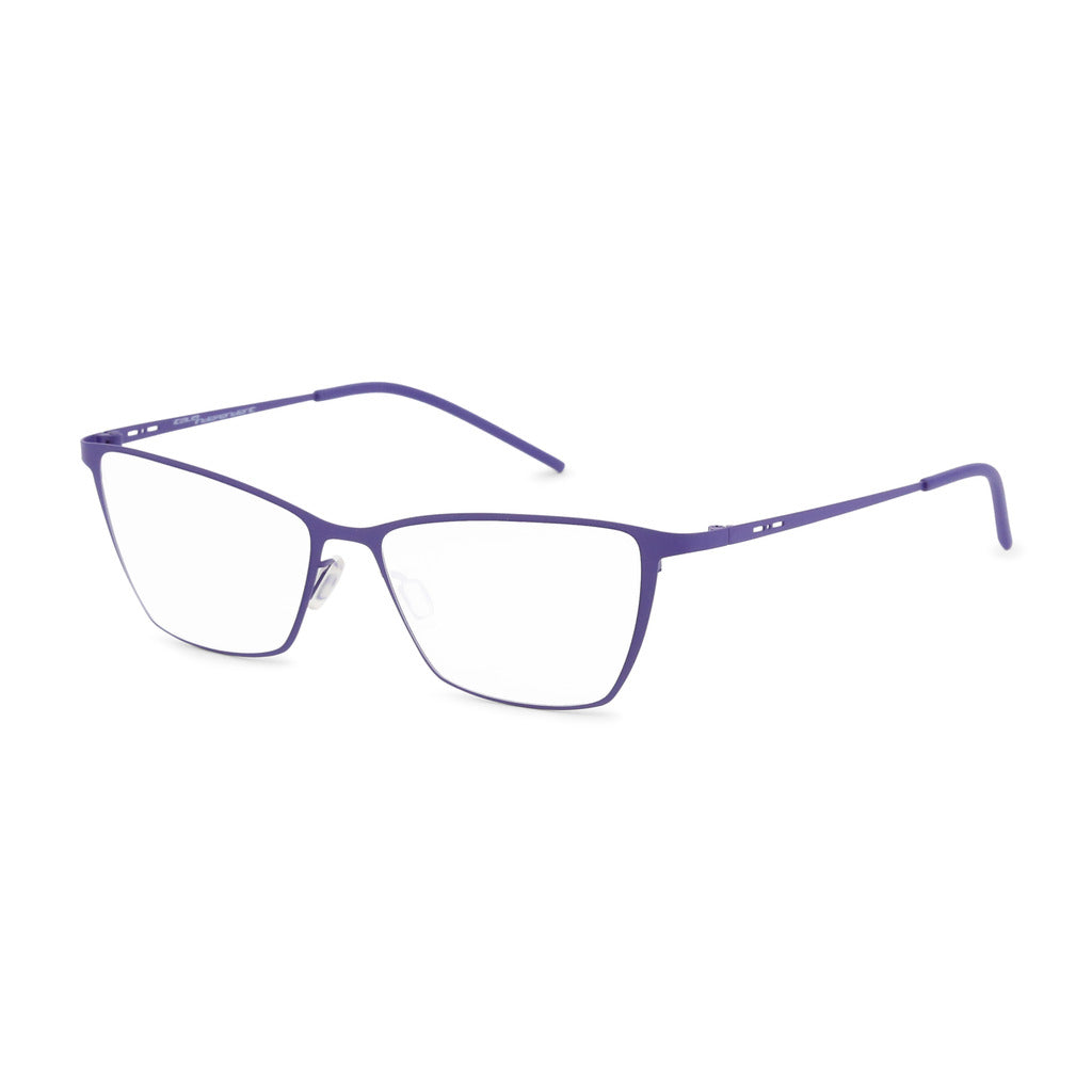 Italia Independent Womens Violet Metal Frame Eyeglasses - 5202A