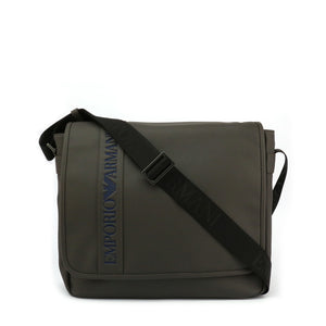 Emporio Armani Mens Grey Crossbody Bag - Y4M173-YG89J