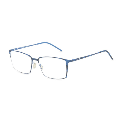Italia Independent Mens Blue Metal Frame EYeglasses - 5210A