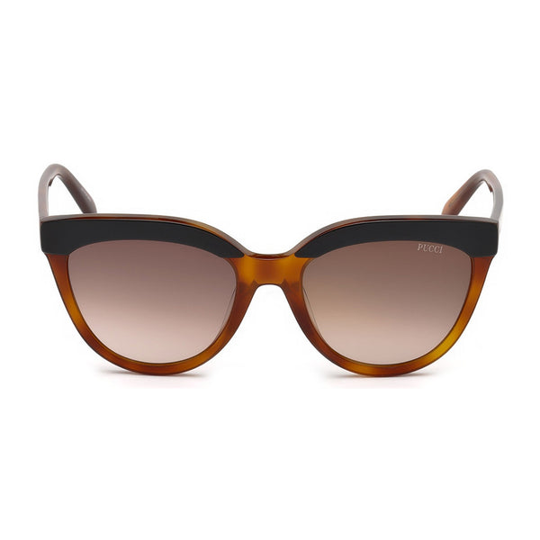 Emilio Pucci Womens Brown Sunglasses - EP0085