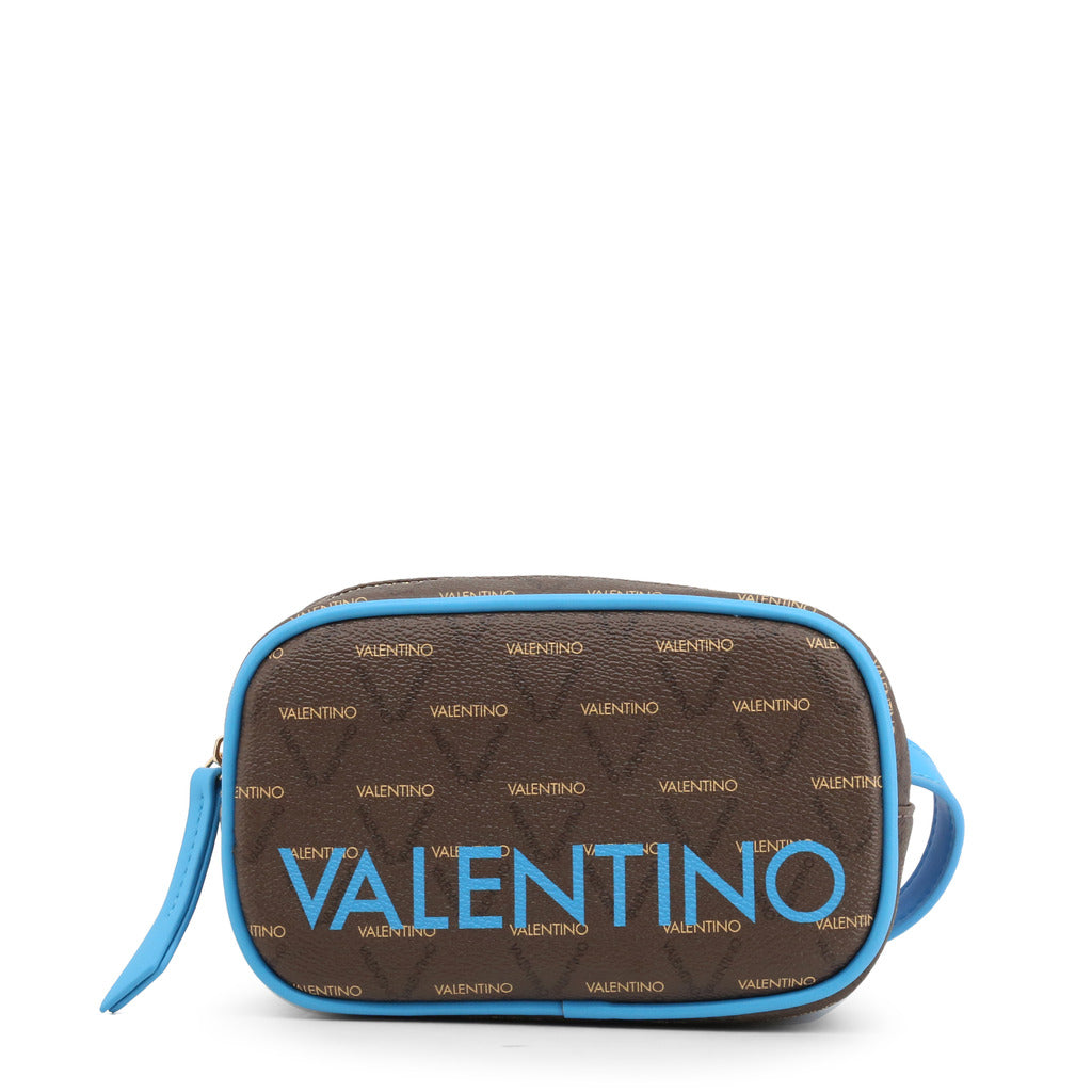 Valentino by Mario Valentino Womens Brown/Blue Clutch Bag - LIUTO FLUO-VBS46820