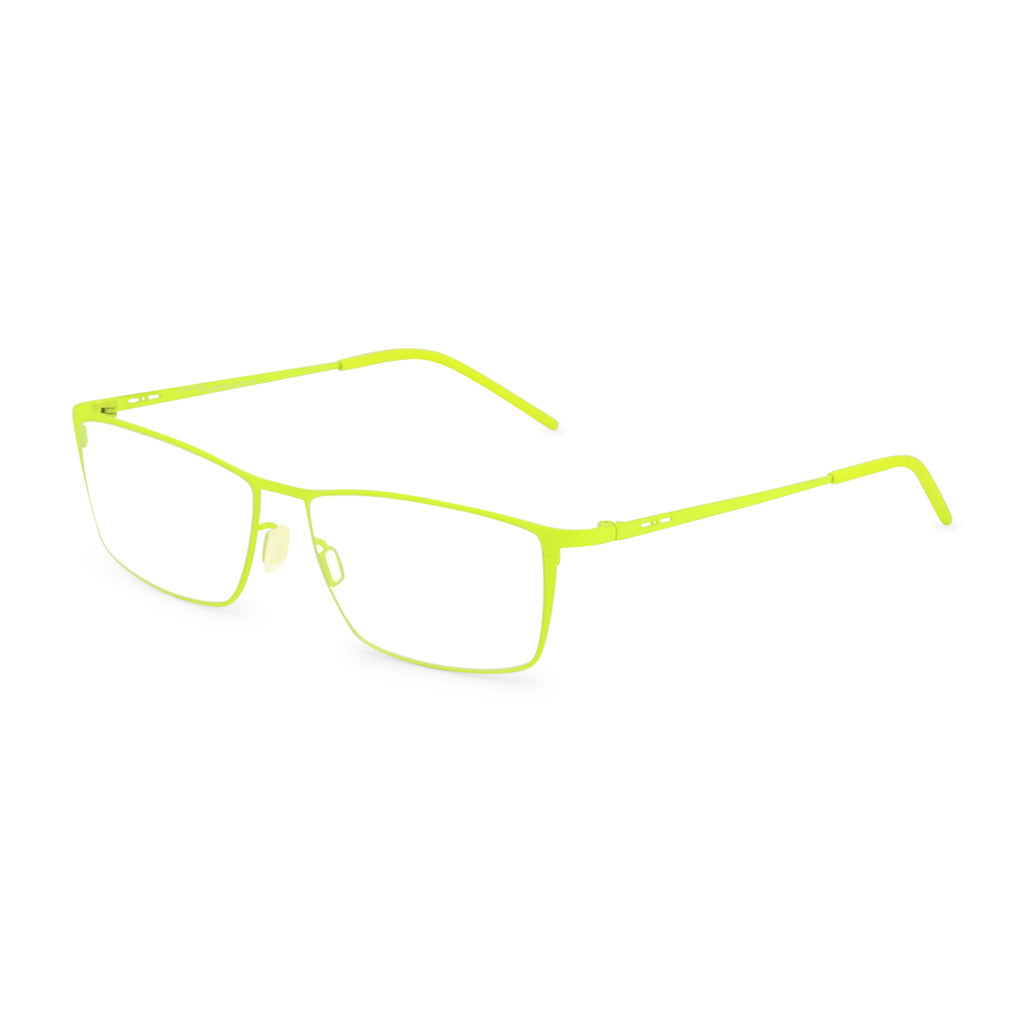 Italia Independent Mens Yellow Slim Frame Eyeglasses - 5201A