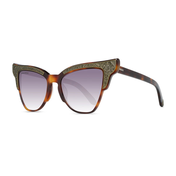 Dsquared2 Womens Brown  Tortoise Shell Sunglasses - DQ0314