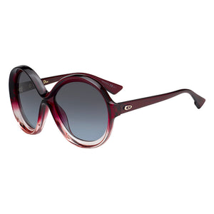 Dior Womens Red Oversized Sunglasses - DIORBIANCA
