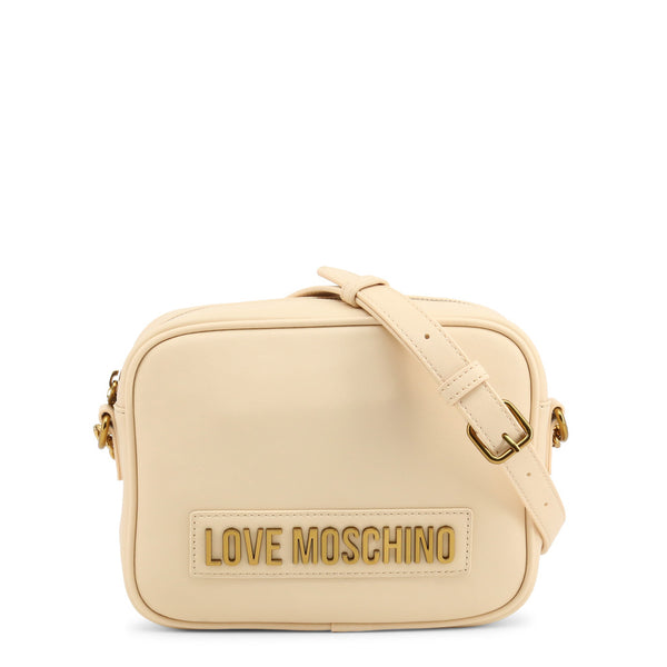 Love Moschino Womens White Crossbody Bag - JC4071PP1BLK