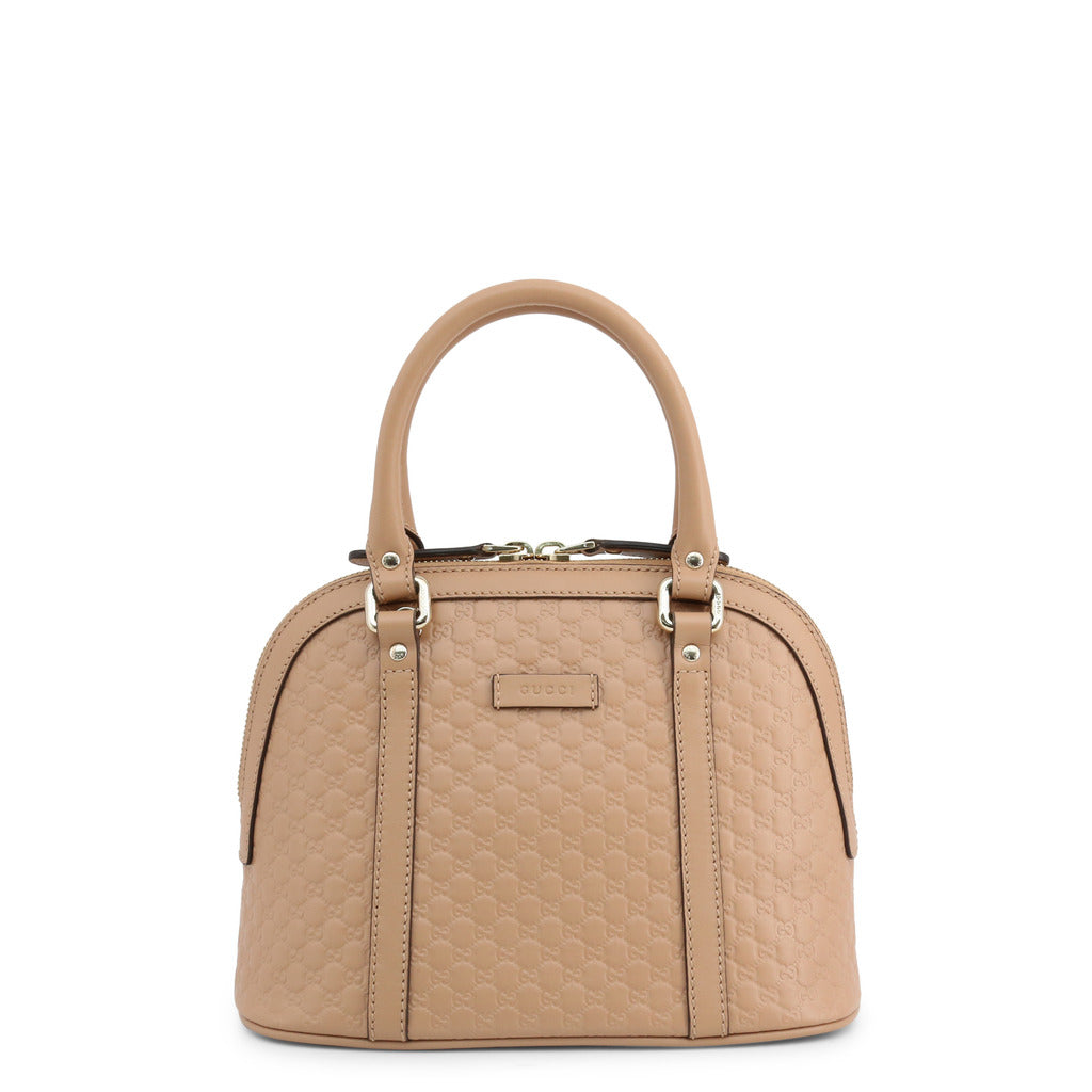 Gucci Womens Brown Shoulder Bag with Zip Fastening - 449654_BMJ1G