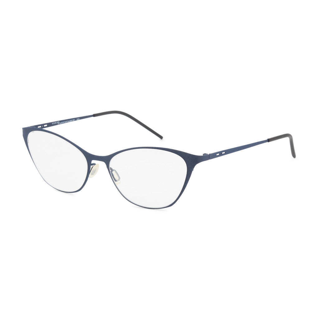 Italia Independent Womens Blue Metal Frame Eyeglasses - 5215A