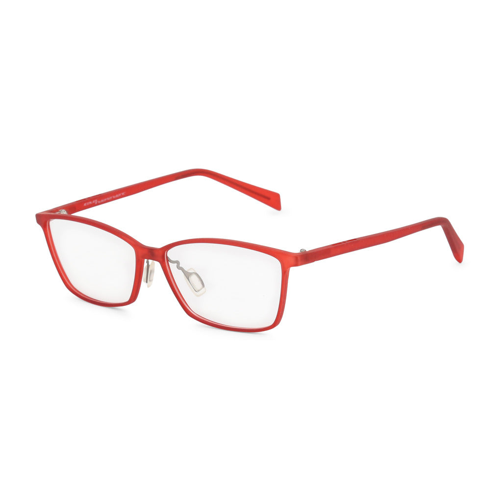 Italia Independent Womens Red Frame Eyeglasses - 5571A