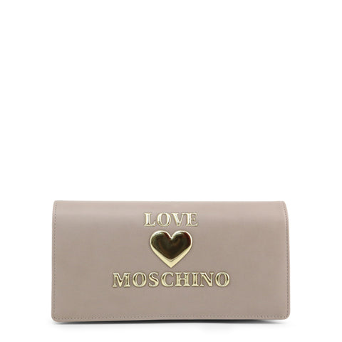 Love Moschino Womens Grey Clutch Bag - JC5612PP1BLE