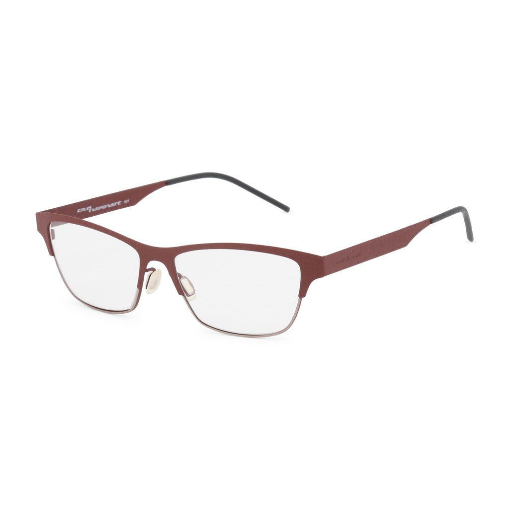 Italia Independent Womens Brown Metal Frame Eyeglasses - 5300A