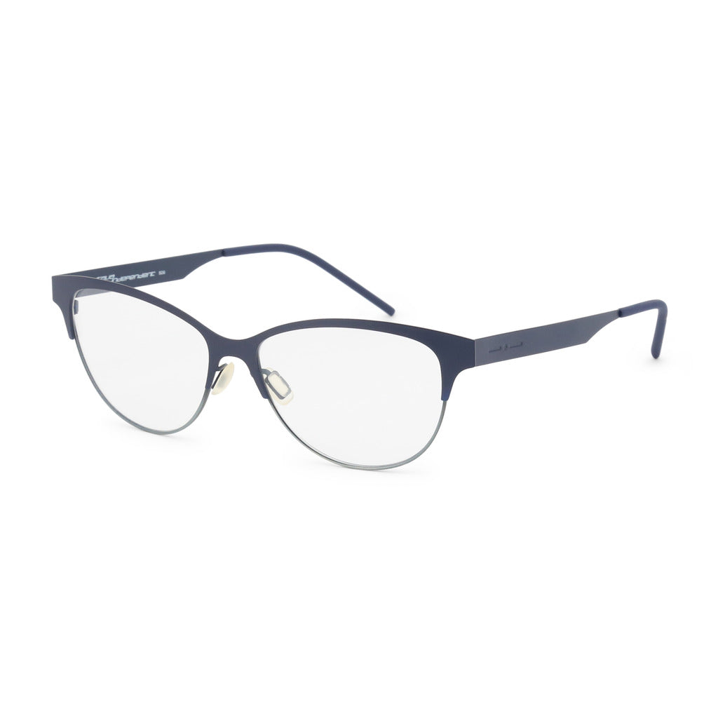 Italia Independent Womens Black Metal Frame Eyeglasses - 5301A