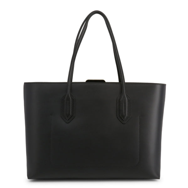 Emporio Armani Womens Black Shopper Bag - Y3D103_YDT6A