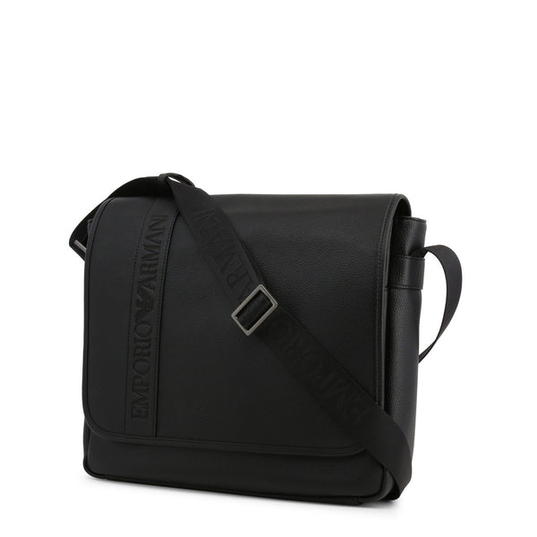 Emporio Armani Mens Black Crossbody Bag - Y4M173-YG89J