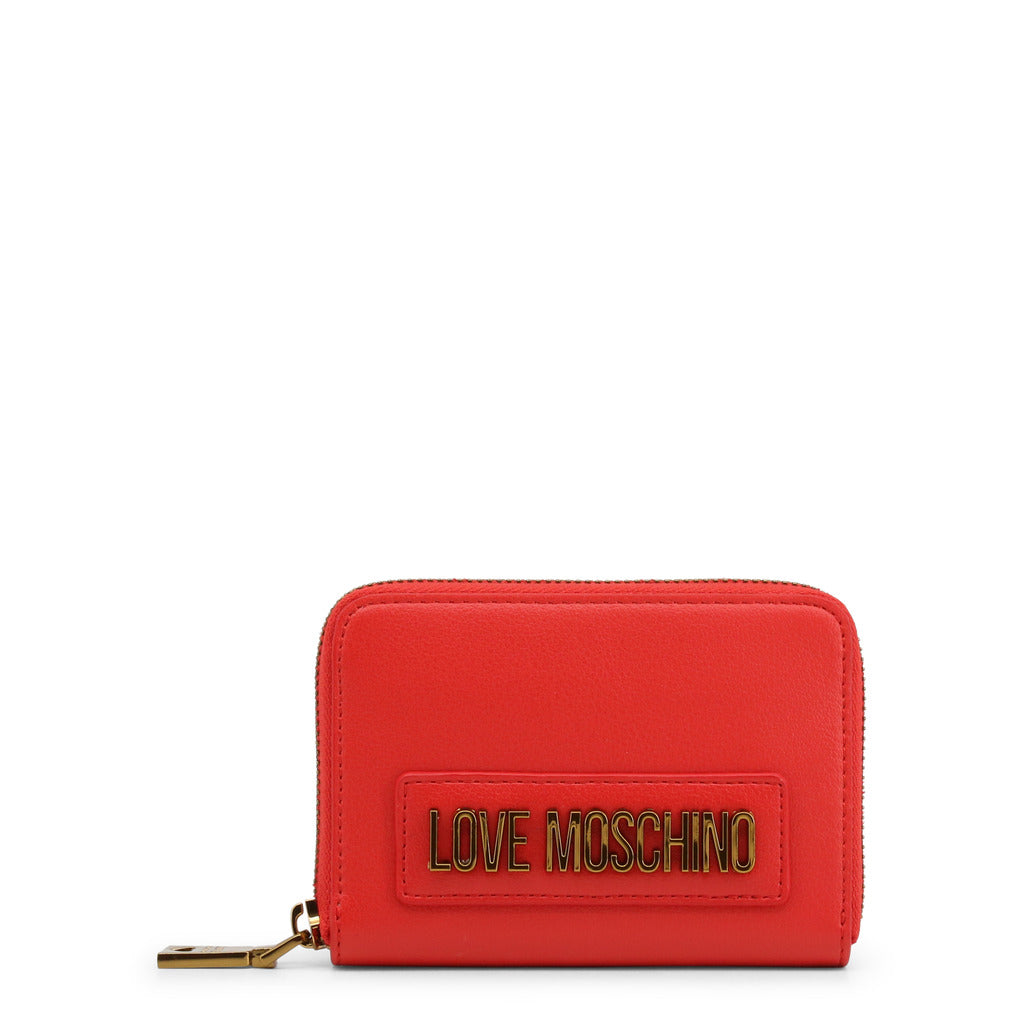 Love Moschino Womens Red Wallet and Zip Fastening - JC5629PP0AKM