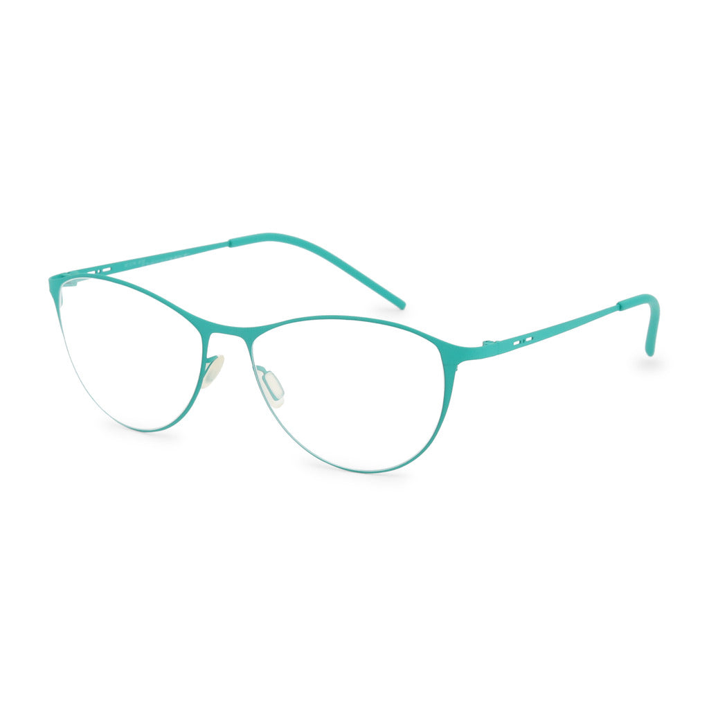 Italia Independent Womens Green Metal Frame Eyeglasses - 5203A