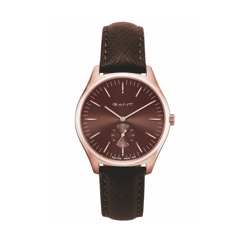 Gant Mens Brown Watch with Steel Case - SEVENHILL