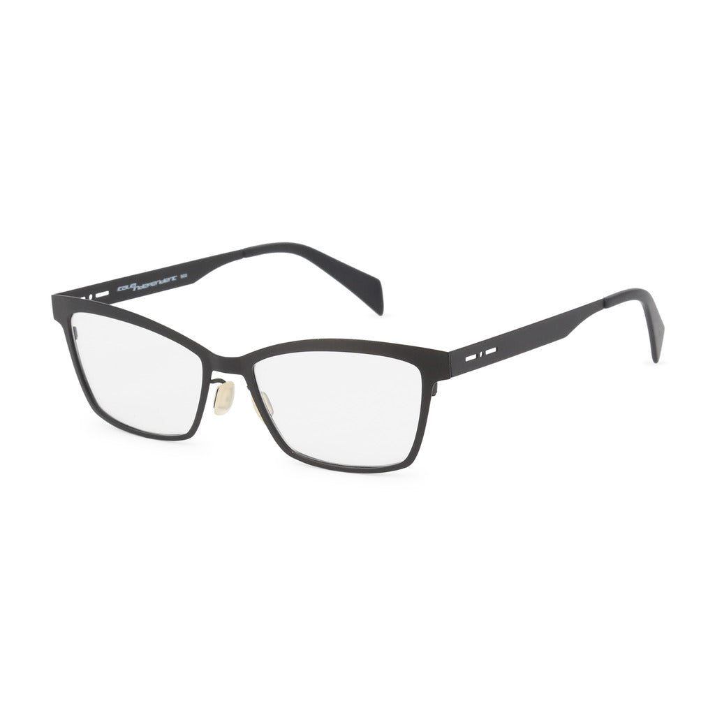 Italia Independent Womens Black Eyeglasses - 5029A