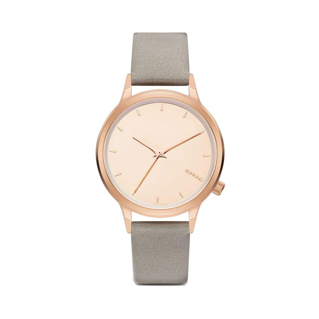 Komono Womens Grey Strap Watch - W2762
