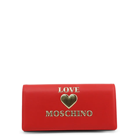 Love Moschino Womens Red Clutch Bag - JC5612PP1BLE