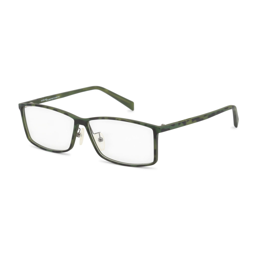 Italia Independent Mens Green Eyeglasses with Pattern - 5563A