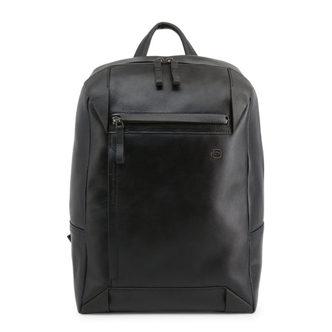 Piquadro Mens Black Backpack - CA4260S94