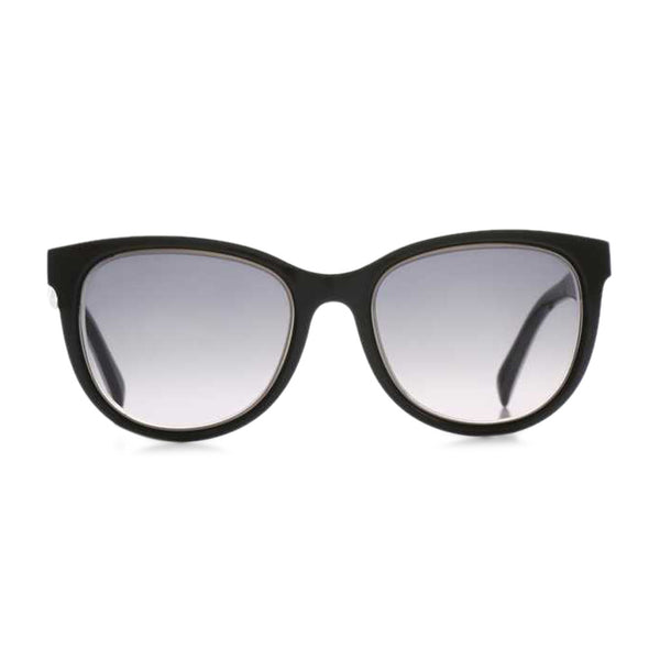 Emilio Pucci Womens Black Sunglasses with Patterned Arms - EP0027