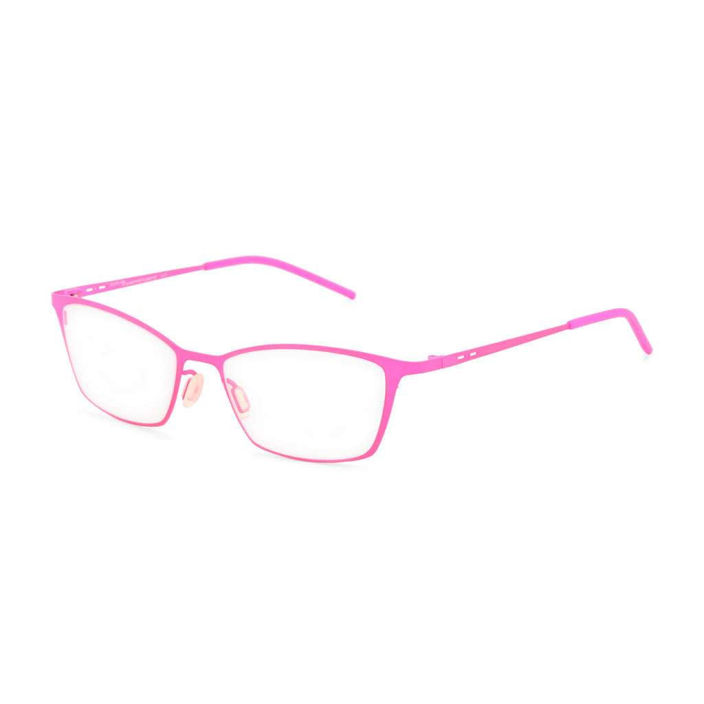 Italia Independent Womens Pink Metal Frame Eyeglasses - 5208A