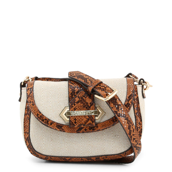 Valentino by Mario Valentino Womens Brown Shoulder Bag - GIGANTE-VBS3XP02