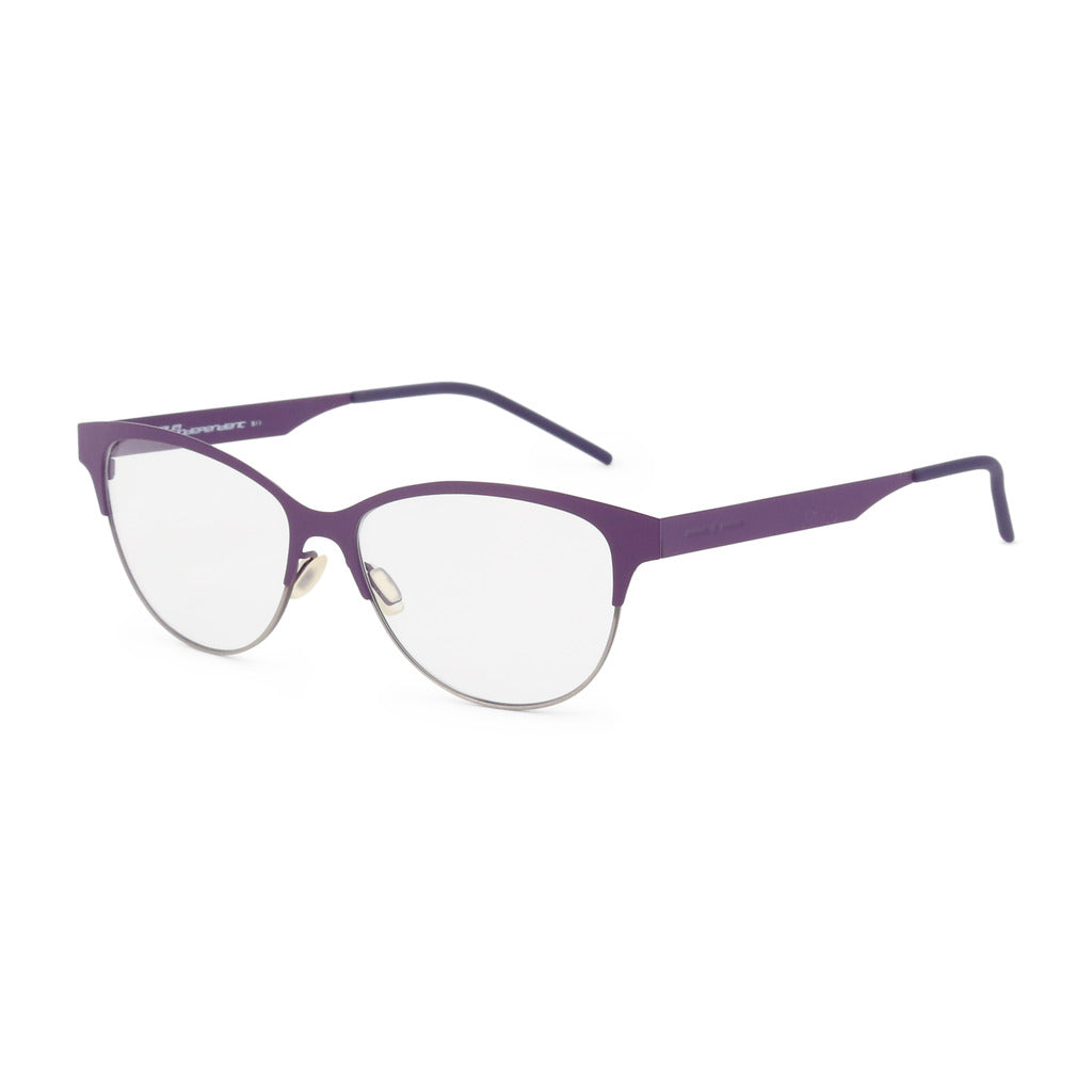 Italia Independent Womens Violet Metal Frame Eyeglasses - 5301A
