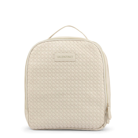 Mario Valentino Womens White Backpack - DOXY-VBS3WV03I