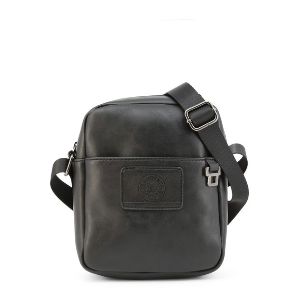 Carrera Jeans  Mens Black Adjustable Crossbody Bag- DAVE_CB3482