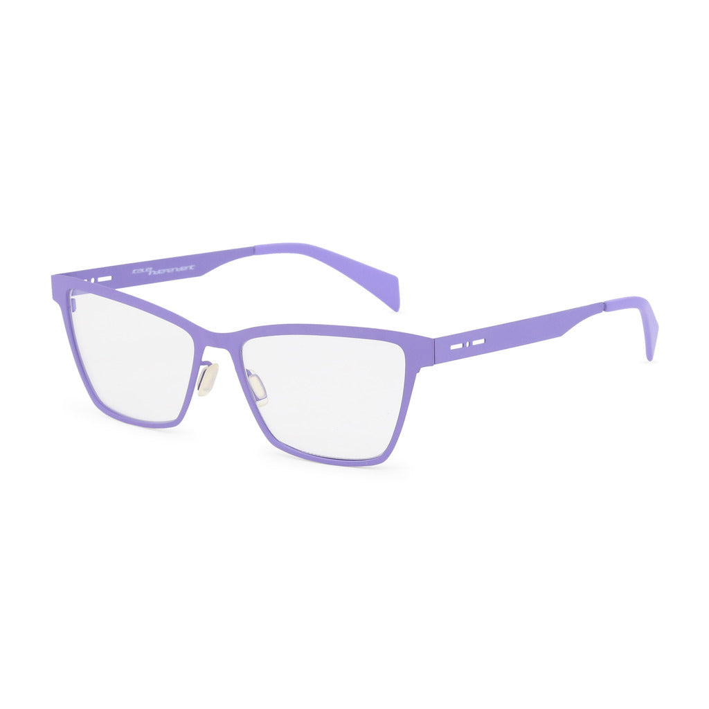 Italia Independent Womens Violet Metal Frame Eyeglasses - 5028A
