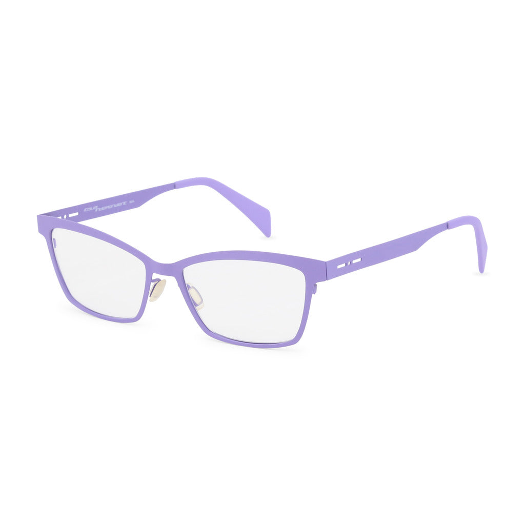 Italia Independent Womens Violet Metal Frame Eyeglasses - 5029A