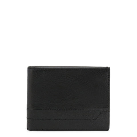 Piquadro Mens Black Leather Card Holder - PU1241S94R
