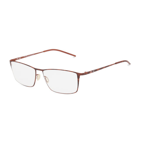 Italia Independent Mens Brown Metal Frame Eyeglasses - 5207A