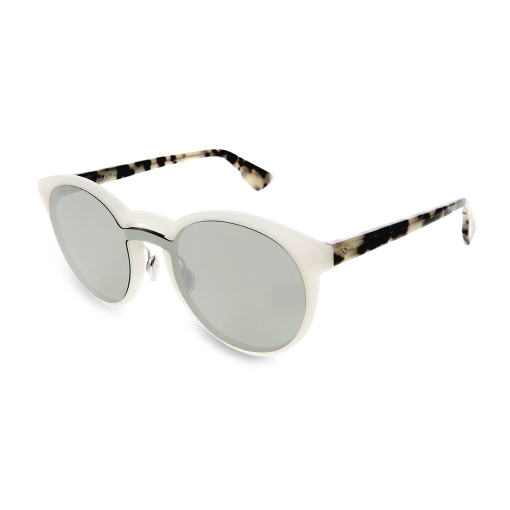 Dior Womens Grey Sunglasses with Patterned Arms - DIORONDE1