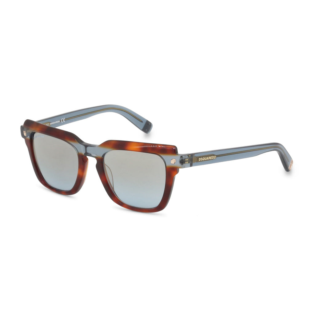 Dsquared2 Womens Brown Part Tortoise Shell Sunglasses- DQ0285