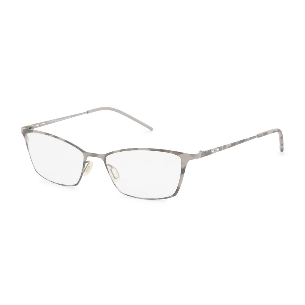 Italia Independent Womens Grey Metal Frame Eyeglasses - 5208A