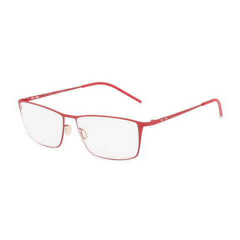 Italia Independent Mens Red Metal Frame Eyeglasses - 5207A
